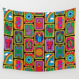 Good Luck Charms Wall Tapestry