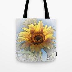 Greeting the rising sun Tote Bag