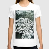 lace T-shirts featuring Lace by Olivia Joy StClaire