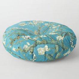 Almond Blossoms by Vincent van Gogh Floor Pillow