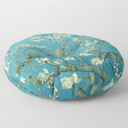 Almond Blossoms by Vincent van Gogh Floor Pillow