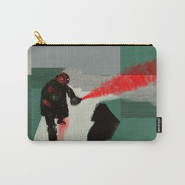 Red Saboteur Carry-All Pouch