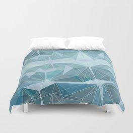 Winter geometric style - minimalist Duvet Cover