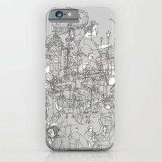 Interlocking Lives, Lines, and Transit Lanes iPhone 6s Slim Case