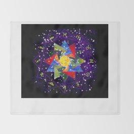 Astrological Circle Throw Blanket