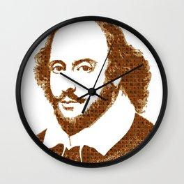 Scrabble Shakespear Wall Clock