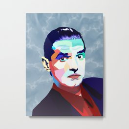 Portrait of Hans Holzel (Falco) Metal Print