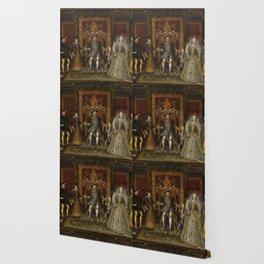 The family of Henry VIII Wallpaper