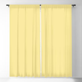 Color inspired by Valspar America Chickery Chick Pastel Yellow 3008-2A Solid Color Blackout Curtain