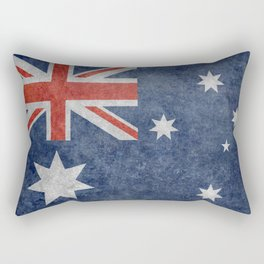 The National flag of Australia, Vintage version Rectangular Pillow