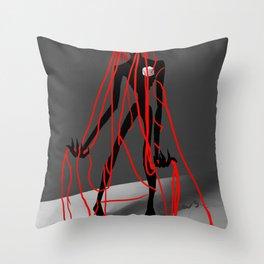Blocked Throw Pillow