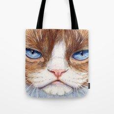 Grumpy kitty 866 Tote Bag