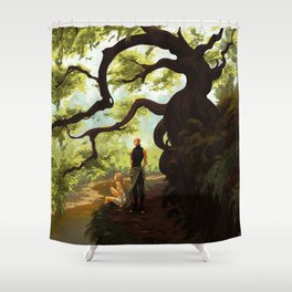 Hinterlands Shower Curtain
