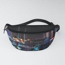 Barbican Marina By Night Fanny Pack