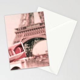 Paris in Blush Pink I Stationery Cards