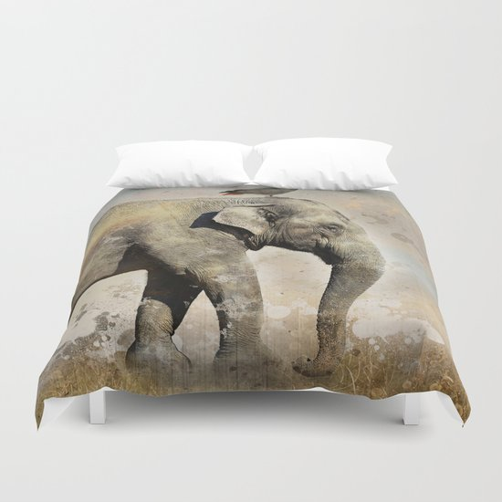 along for the ride Duvet Cover