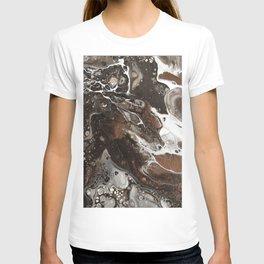 Café mocha mermaid with whip T-shirt