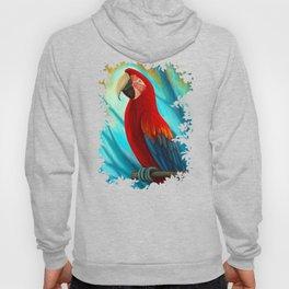 Technicolor Macaw Hoody
