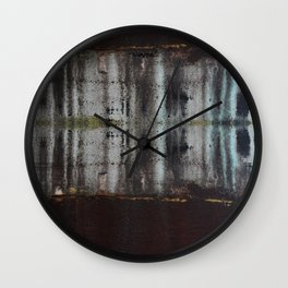 Consistency Mash up Wall Clock