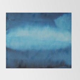 Indigo Ocean Dreams Throw Blanket