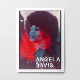 Angela Davis Metal Print