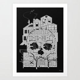 Monsterhouse Art Print
