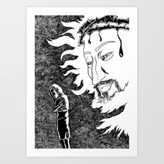 Someone Watching Over Me Art Print