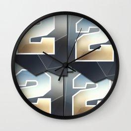 kubik Wall Clock