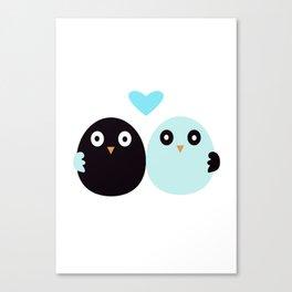 Friendship birdy Canvas Print