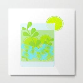Mojito (Cocktail) Metal Print