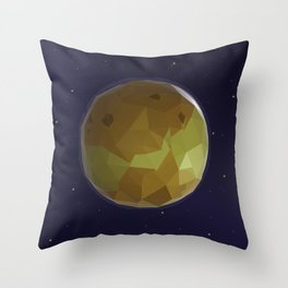 Venus in Low Poly Style Throw Pillow