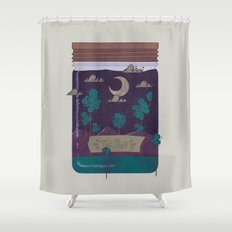 Memento Shower Curtain