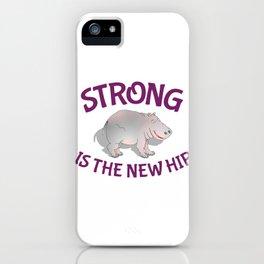 Hippo Fitness iPhone Case