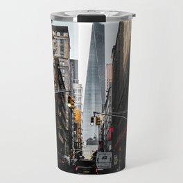 Lower Manhattan One WTC Travel Mug