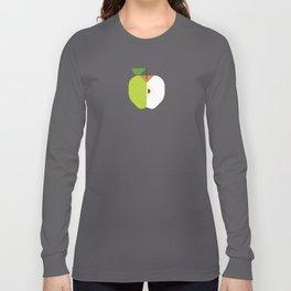Fruit: Apple Golden Delicious Long Sleeve T-shirt