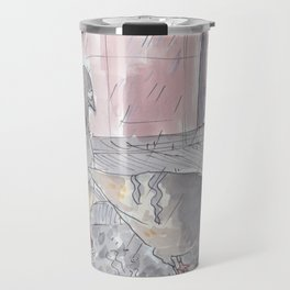 Portland Pigeons - Big Pink Travel Mug
