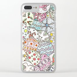 Is it Christmas yet? Clear iPhone Case