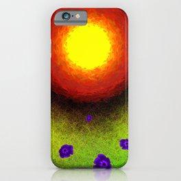 Solar field iPhone Case
