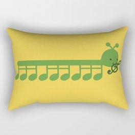 Caterpillar Song Rectangular Pillow
