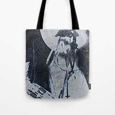 I EAT MUSIC - Surrealism | Abstract | Music Tape | Pop Art | Surrealism | Funny  Tote Bag