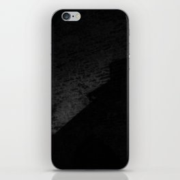 Black on Black iPhone Skin