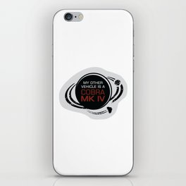 MY OTHER VEHICLE IS A COBRA iPhone Skin