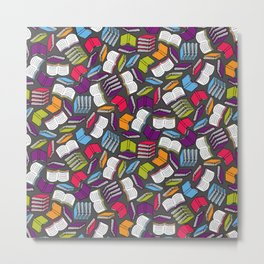So Many Colorful Book... Metal Print