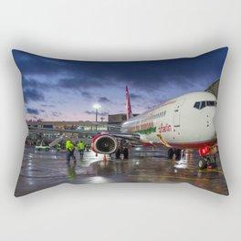Flying home for X-mas Rectangular Pillow