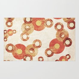 The past age of vinyl records. Rug