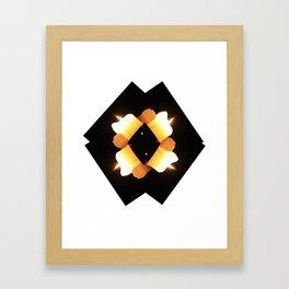 multiple burns Framed Art Print