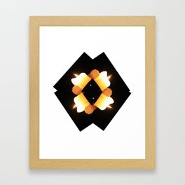 multiple burns Framed Art Print