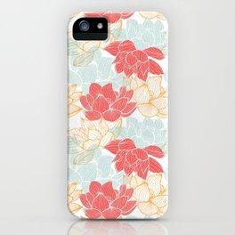 Lotus Carousal iPhone Case