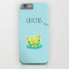 Catctus iPhone Case