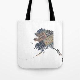 Vintage Alaska Tote Bag